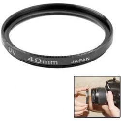 49mm SLR Camera UV Filter(Black) غطاء مرشح عدسة الكاميرا الرقمية