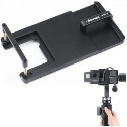 ULANZI PT-6 Mount Adapter for DJI OSMO Action GoPro Hero 7 6 5, Universal Switch Mount Plate for DJI Osmo Mobile 2 Zhiyun Smooth 4 Moza Mini-Mi