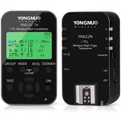 Yongnuo Wireless Flash Trigger Kit YN622N-KIT Transmitter Controller YN622N-TX + i-TTL Transceiver Receiver YN622N for Nikon