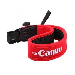 Dslr Camera Shoulder Neck Strap for Canon red