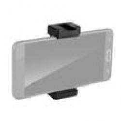 Phone Tripod Mount Adapter Holder Clip Black